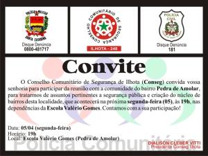 CONVITE DE 05/04/2010