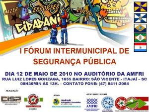 CARTAZ FORUM - INTERMUNICIPAL ANFRI