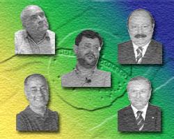 Os nanicos da política e do povo