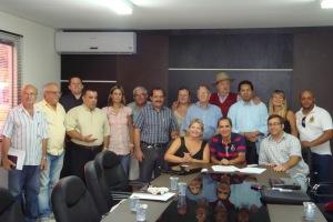 Reunião da CISP no dia 26012011 em Balneário Camboriú