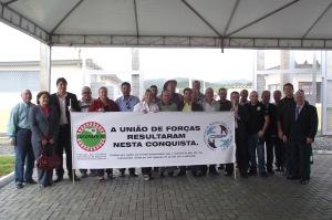 A obra do Presídio Regional de Itajaí foi inaugurada nesta manhã de quinta-feira, 16/12/2010.