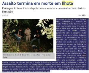 Jornal Metas edição de 11 de Março de 2011