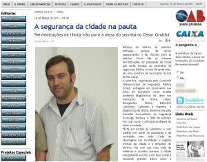Jornal Metas edição de 16 de Março de 2011