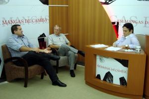Conseg Barra Norte - Giovane M Pasa (AG3 Associados), Luiz Nurhich (Presidente CONSEG BN) e Bolinha (SMC)