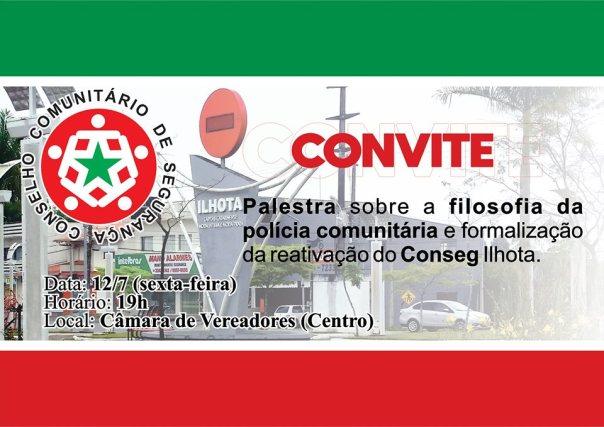 CONVITE REUNIÃO PALESTRA CONSEG 12072019 - BANNER EVENTO FACEBOOK