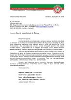 OFÍCIO CONSEG 09-COMANDO DA POLÍCIA MILITAR ILHOTA