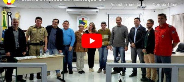 YouTube Reunião do Conseg Ilhota